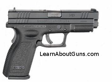 A springfield XD pistol